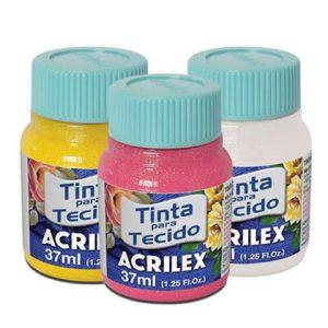 tinta para tecido Acrilex