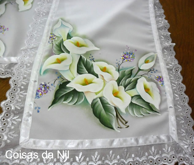 tecido para pintar - pintura em oxford branco