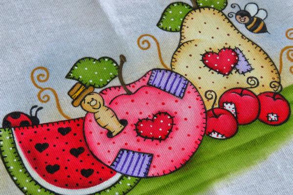 pinta bolinhas pintura em tecido