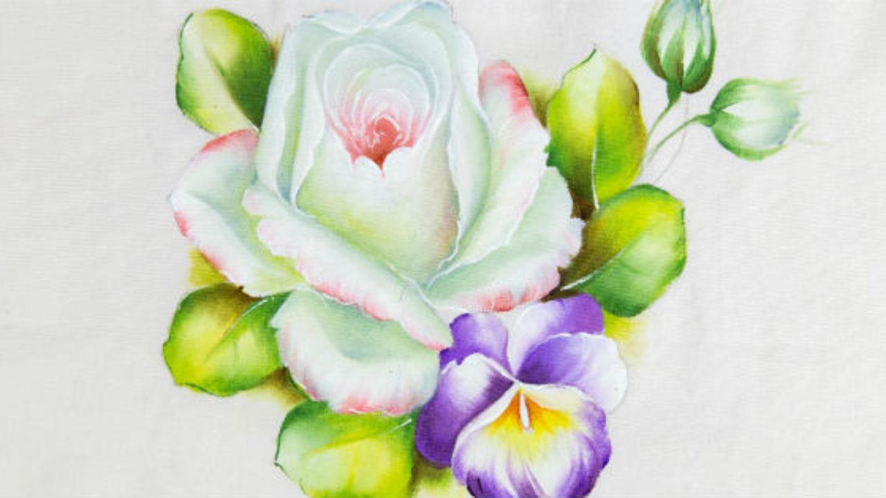 Como Pintar Rosas Em Tecido 7 Dicas Incriveis E Faceis De Aplicar