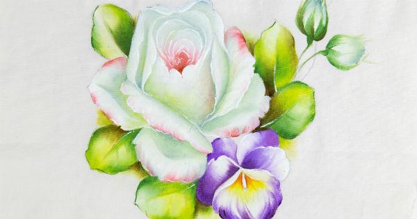 Como Pintar Rosas Realistas Em Tecido 7 Dicas Incríveis E