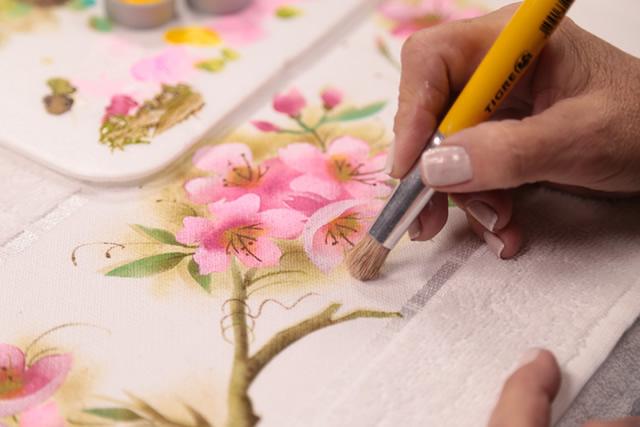 4 Tipos De Moldes Para Pintura Em Tecido Conheça E Aprenda A Usar