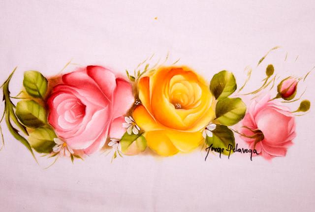 tipos de pintura em tecido