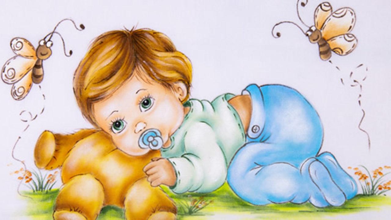 5 Desenhos Para Pintura Em Tecido Infantil Baixe Agora Mesmo