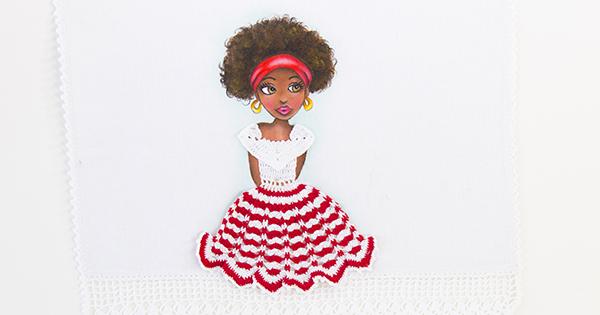 pintura em tecido bonecas