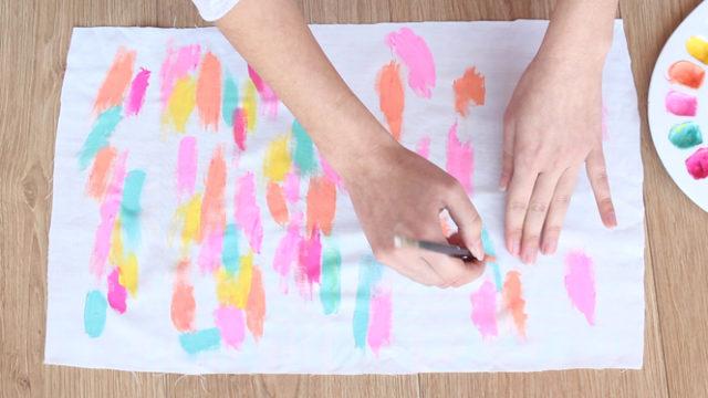 como fazer tiara de tecido passo a passo
