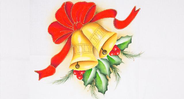 15 Ideias De Pano De Prato De Natal Pintados A Mao Escola De Pintura