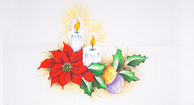 Aprenda Como Fazer Lindas Pinturas De Natal Riscos De Pintura