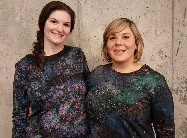 Como Estampar Camisetas desenho de galáxia