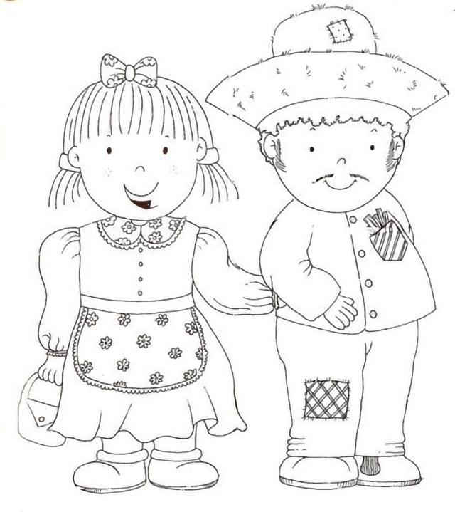 desenhos de festa junina