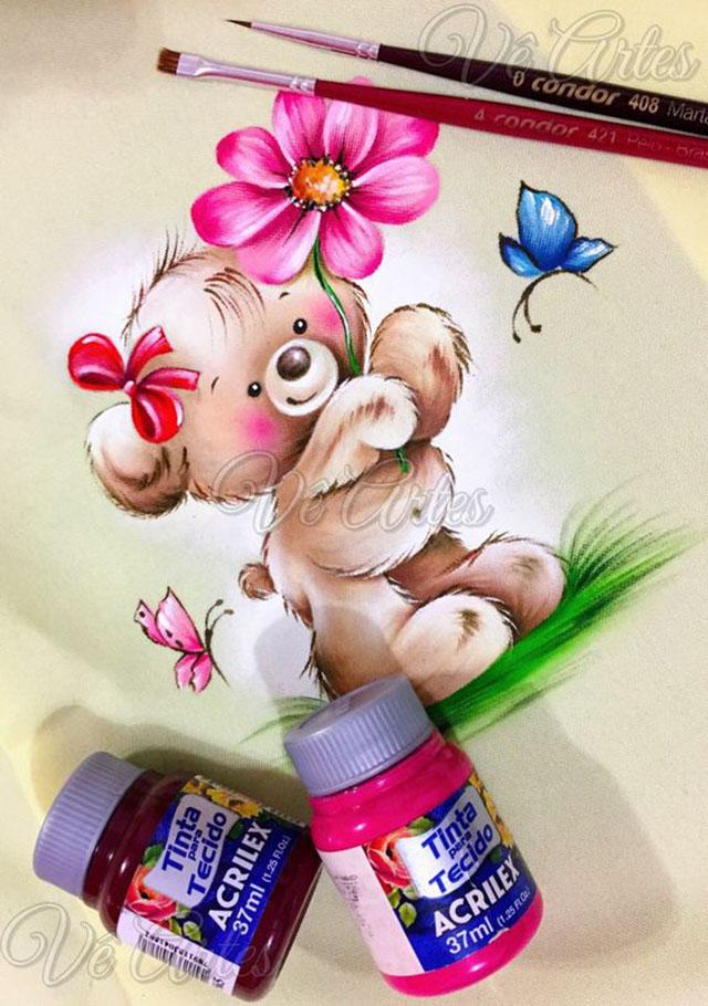 riscos para pintura em tecido